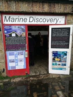 Marine Discovery office, Penzance Cornwall