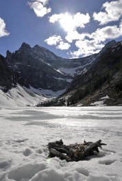 Frozen Lake Agnes