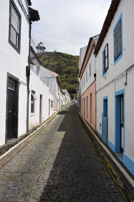 Street view of Lajes do Pico