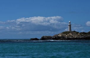 Bathurst lighthouse on Rottnest Island