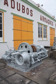 The Sao Roque whaling industry museum