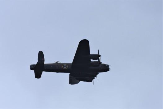 Lancaster bomber, Knepp