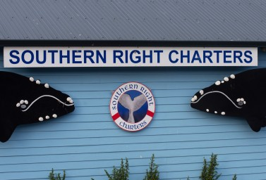 Southern Right Charters office in New Harbour