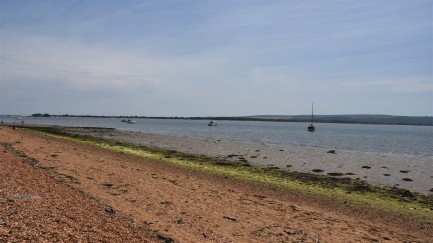 One of Brownsea Islands Beaches